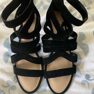 Sole Society - Black Heels